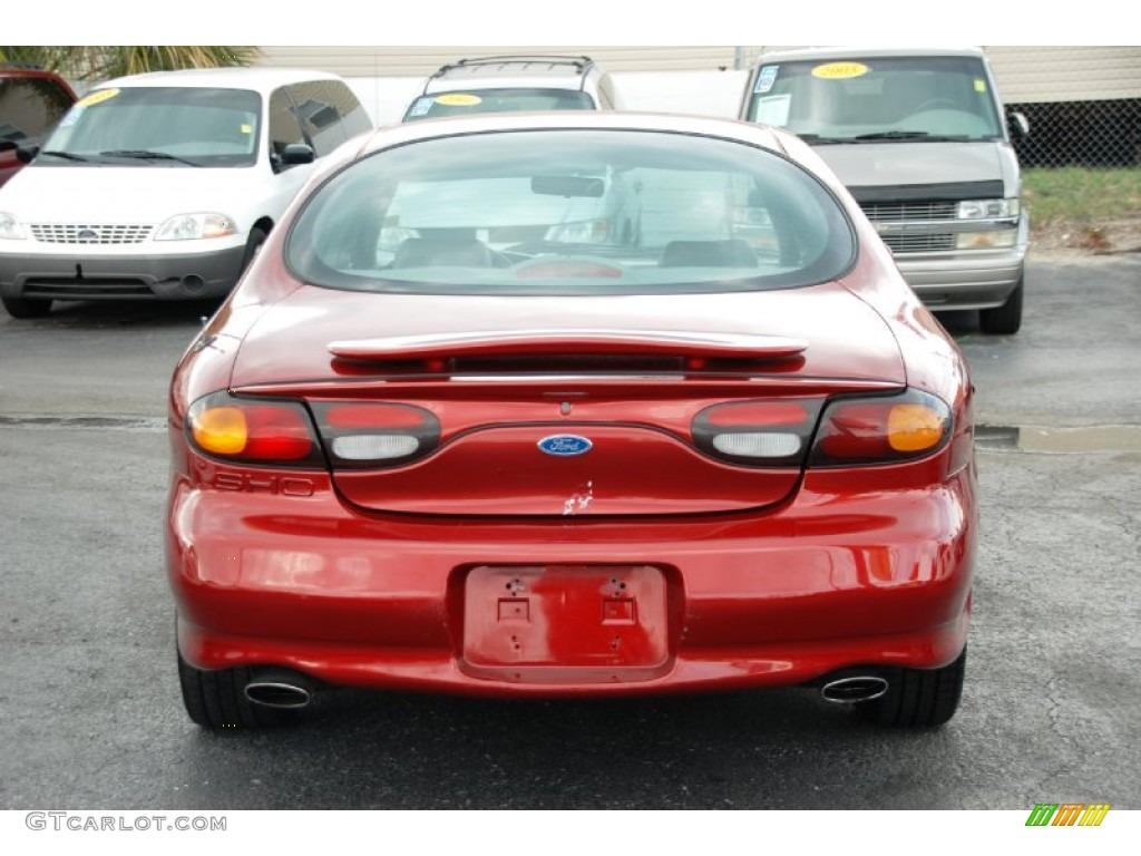 Toreador red metallic 1997 ford taurus sho exterior photo 61223778