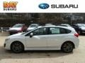 Satin White Pearl - Impreza 2.0i Sport Premium 5 Door Photo No. 1