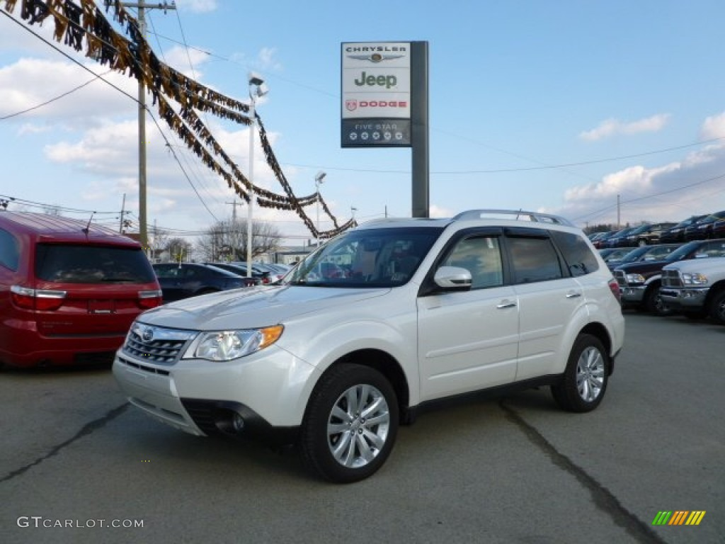 All Types 2011 forester : 2011 Satin White Pearl Subaru Forester 2.5 X Touring #61167103 ...
