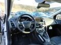2012 White Platinum Tricoat Metallic Ford Focus Titanium Sedan  photo #10