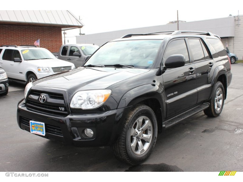 2007 black toyota 4runner limited 4x4 61242014 car color galleries. Black Bedroom Furniture Sets. Home Design Ideas