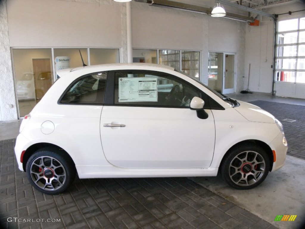 Bianco White 2012 Fiat 500 Sport Exterior Photo 61252178 Gtcarlot Com