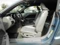 2007 Windveil Blue Metallic Ford Mustang V6 Premium Convertible  photo #13