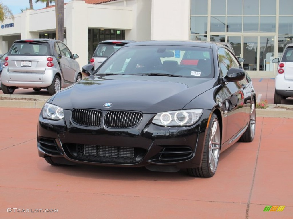 Black Sapphire Metallic BMW Series Is Coupe - 2012 bmw 335is