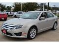 2010 Smokestone Metallic Ford Fusion SE V6  photo #1