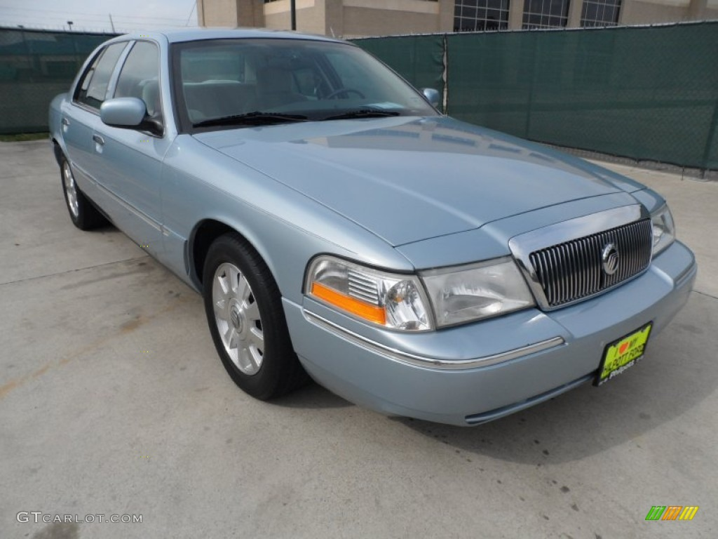2003 light ice blue metallic mercury grand marquis ls. Black Bedroom Furniture Sets. Home Design Ideas