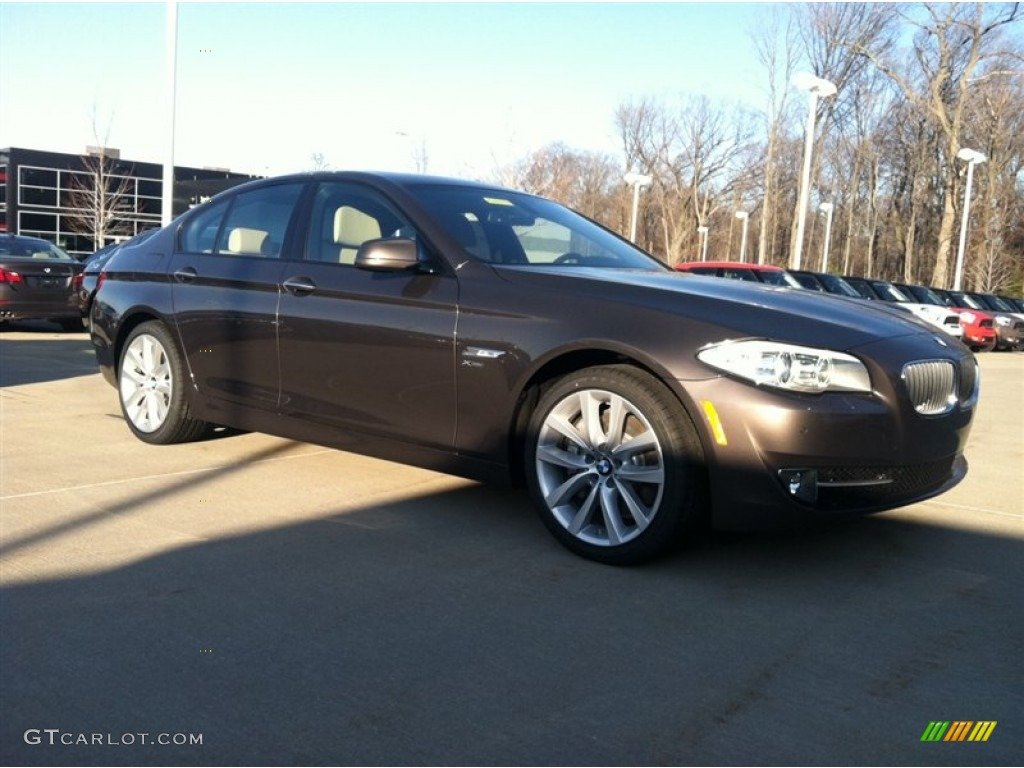 2012 mojave brown metallic bmw 5 series 535i xdrive sedan. Black Bedroom Furniture Sets. Home Design Ideas