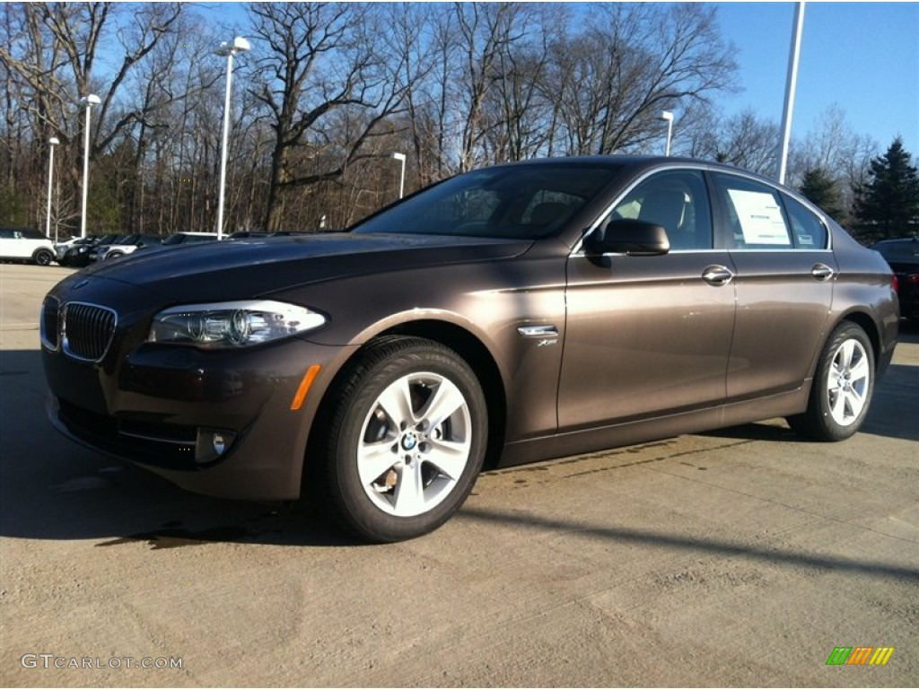 mojave brown metallic 2012 bmw 5 series 528i xdrive sedan. Black Bedroom Furniture Sets. Home Design Ideas