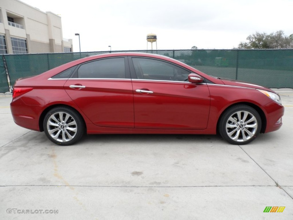 sparkling ruby red 2012 hyundai sonata limited 2 0t exterior photo 61284665. Black Bedroom Furniture Sets. Home Design Ideas