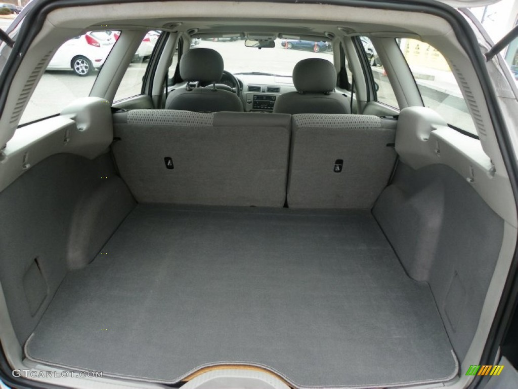2009 Ford Fusion Trunk Dimensions