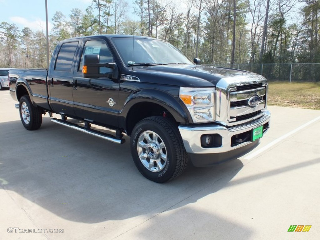2014 Ford F350 Super Duty Lariat Crew Cab 4x4 Sterling Gray Metallic