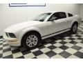 2007 Performance White Ford Mustang V6 Deluxe Coupe  photo #21