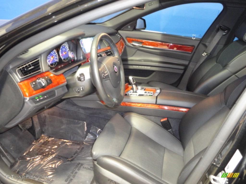 black interior 2012 bmw 7 series alpina b7 lwb photo #61320184