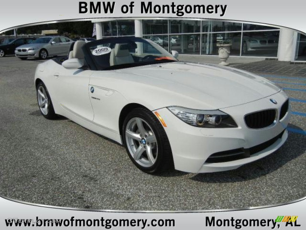 2009 Alpine White Bmw Z4 Sdrive30i Roadster 61288394 Gtcarlot Com Car Color Galleries