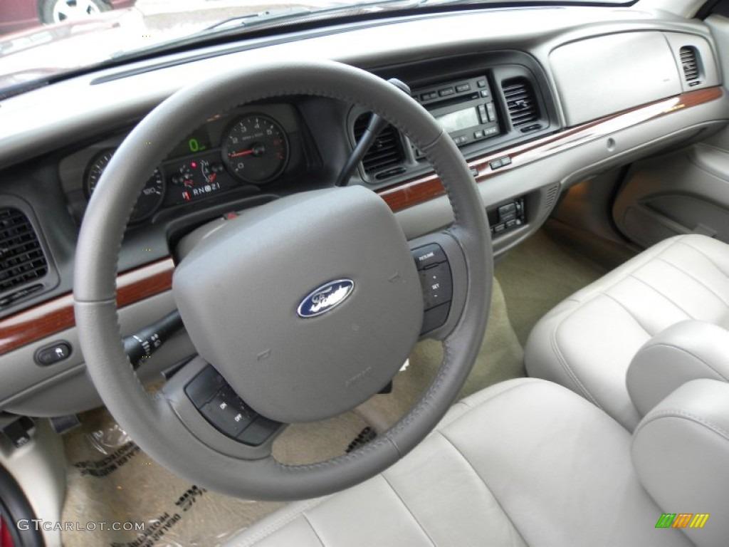 Medium Light Stone Interior 2011 Ford Crown Victoria LX ...