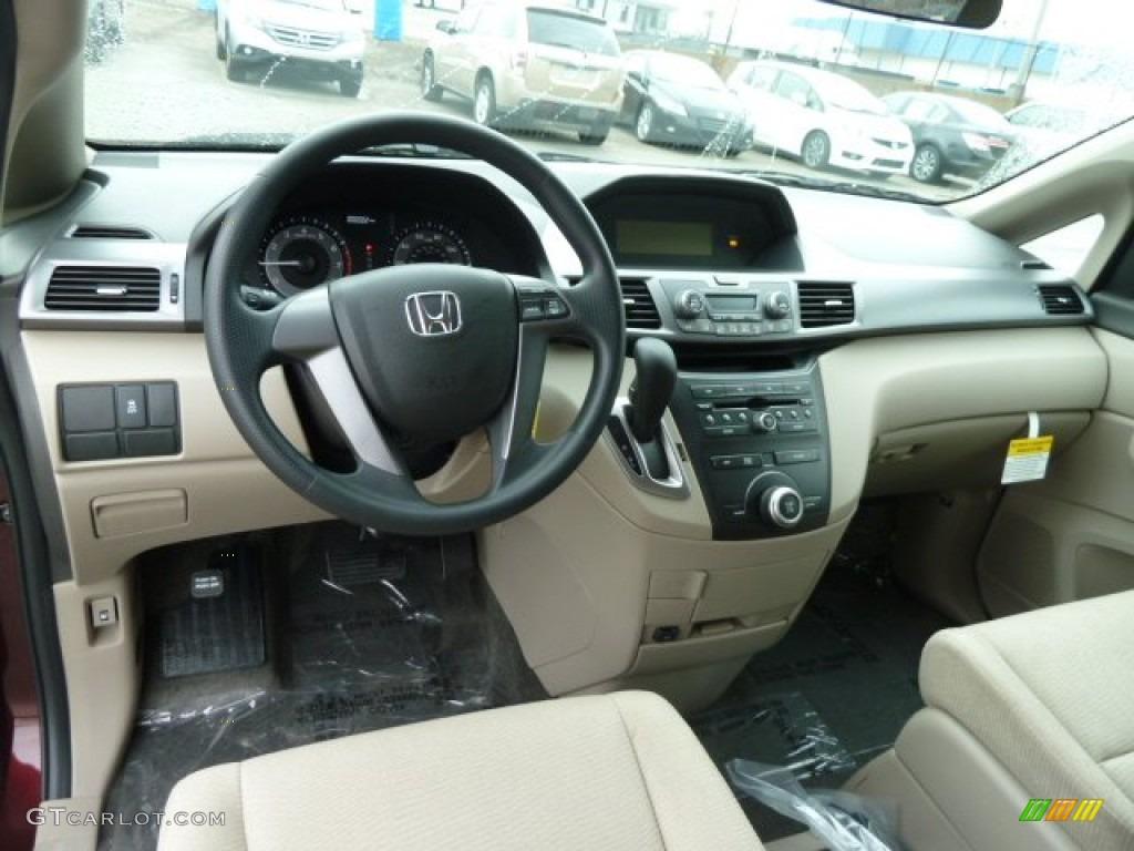 2012 Honda Odyssey Lx Beige Dashboard Photo 61332008