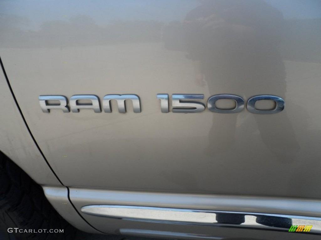 2005 Ram 1500 SLT Quad Cab - Light Almond Pearl / Dark Slate Gray photo #23