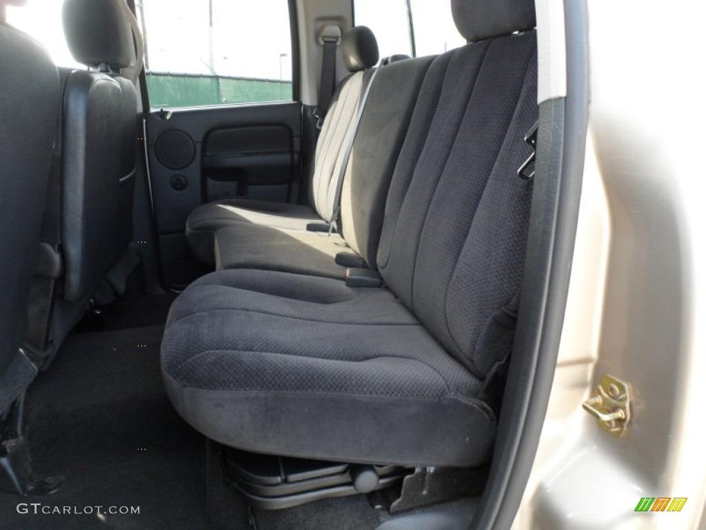 2005 Ram 1500 SLT Quad Cab - Light Almond Pearl / Dark Slate Gray photo #33