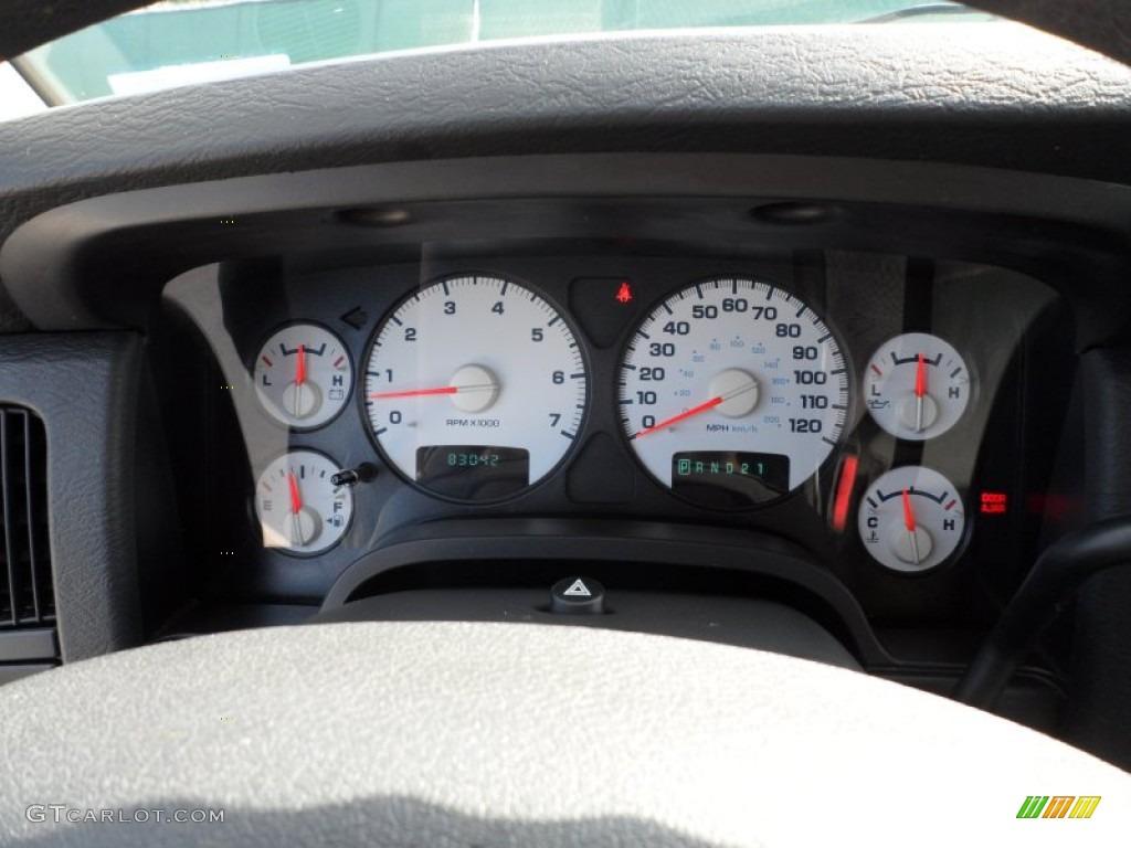 2005 Ram 1500 SLT Quad Cab - Light Almond Pearl / Dark Slate Gray photo #43