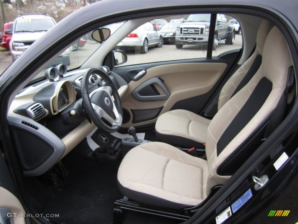 design beige interior 2010 smart fortwo passion coupe photo 61348037. Black Bedroom Furniture Sets. Home Design Ideas