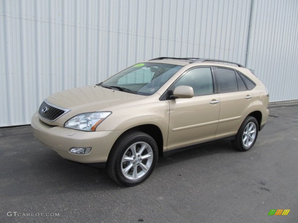 2009 golden almond metallic lexus rx 350 awd 61345763 car color galleries. Black Bedroom Furniture Sets. Home Design Ideas