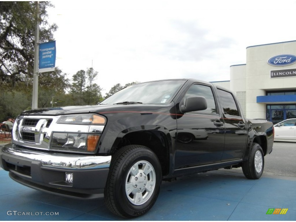 Attractive 2008 I Series Truck I 370 LS Extended Cab   Onyx Black / Ebony