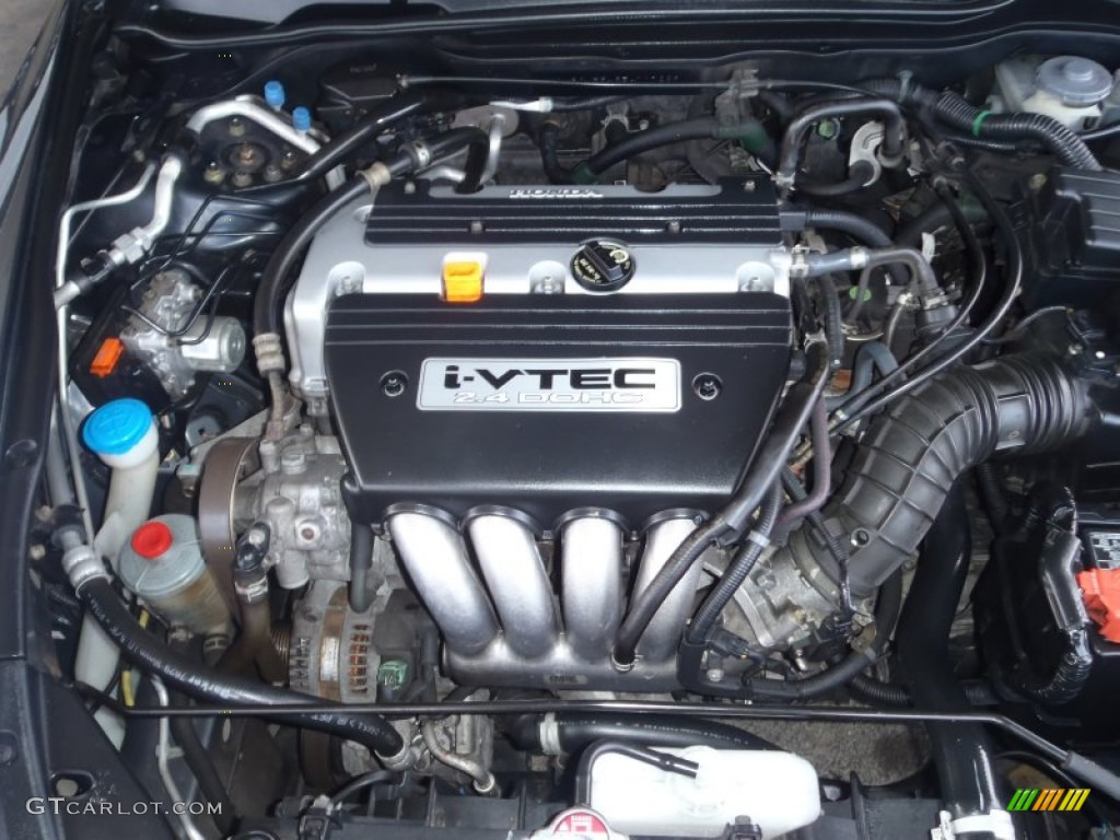 2005 honda accord lx sedan 2 4l dohc 16v i vtec 4 cylinder for Honda accord 4 cylinder