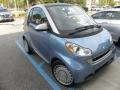 Light Blue Metallic 2011 Smart fortwo passion coupe