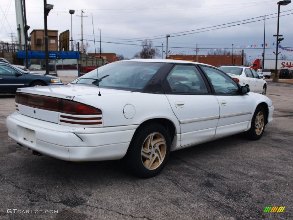 1993 dodge intrepid es bright white color blue interior 1993 intrepid ...
