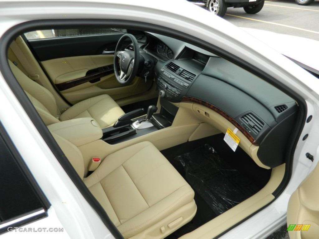 Ivory Interior 2012 Honda Accord Crosstour Ex L Photo