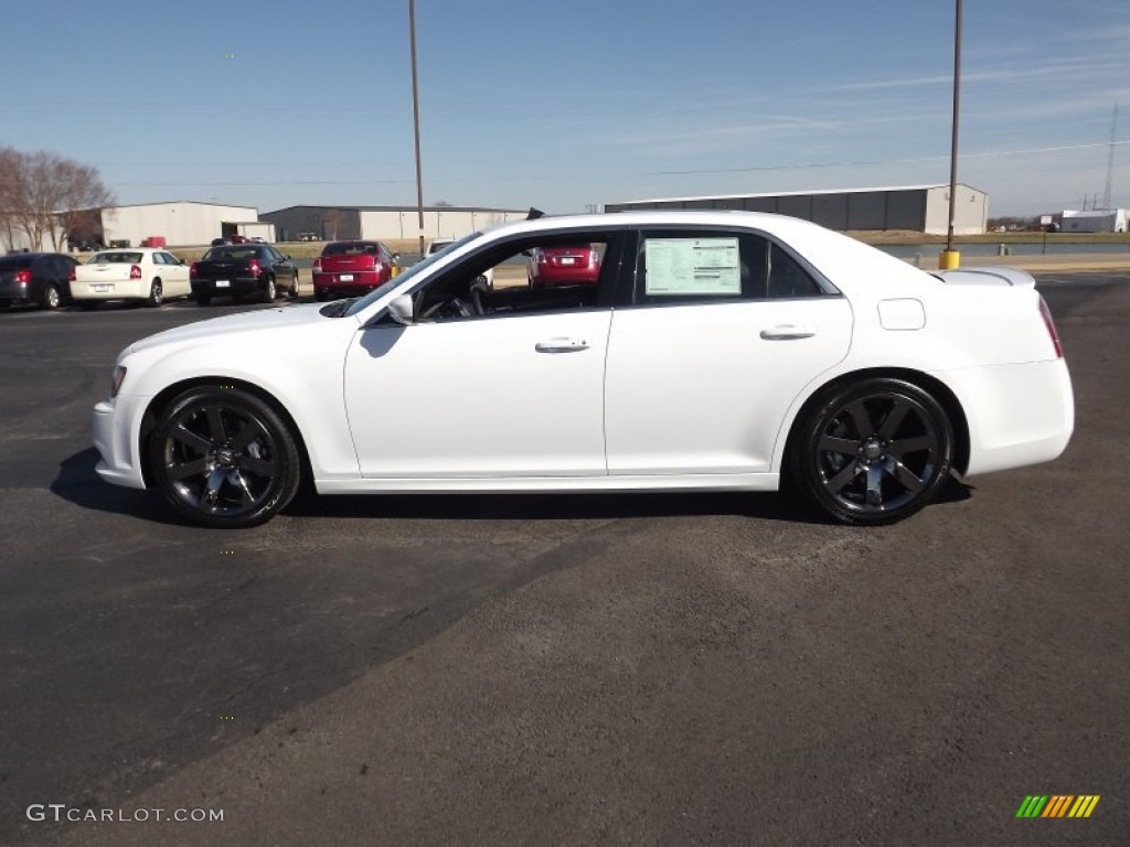 Ivory Tri Coat Pearl 2012 Chrysler 300 Srt8 Exterior Photo