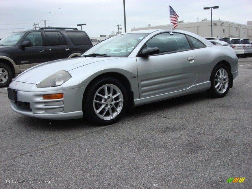 Sterling silver metallic 2000 mitsubishi eclipse gt coupe