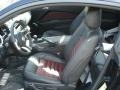 2012 Ford Mustang Lava Red/Charcoal Black Interior Interior Photo
