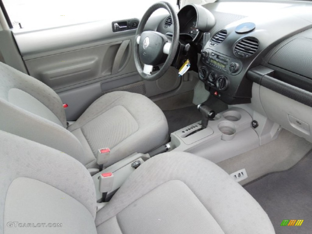 Gray Interior 1999 Volkswagen New Beetle Gl Coupe Photo