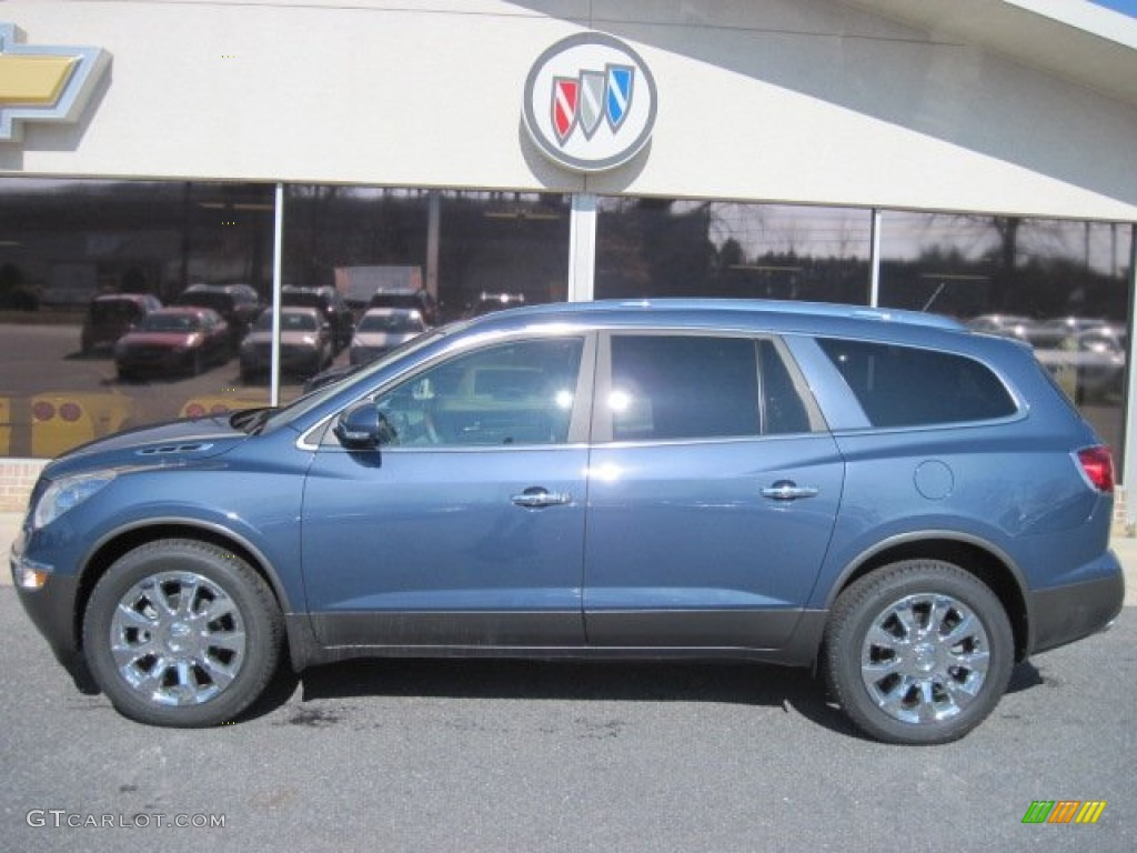 Twilight Blue Metallic 2012 Buick Enclave Fwd Exterior Photo 61455306