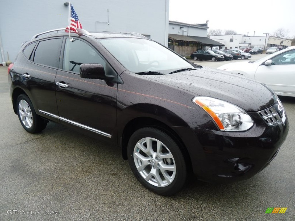 Black Amethyst 2011 Nissan Rogue Sv Awd Exterior Photo 61458669