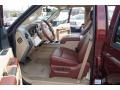 2012 Autumn Red Metallic Ford F250 Super Duty King Ranch Crew Cab 4x4  photo #8