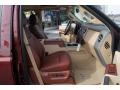 2012 Autumn Red Metallic Ford F250 Super Duty King Ranch Crew Cab 4x4  photo #12