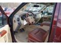 2012 Autumn Red Metallic Ford F250 Super Duty King Ranch Crew Cab 4x4  photo #25