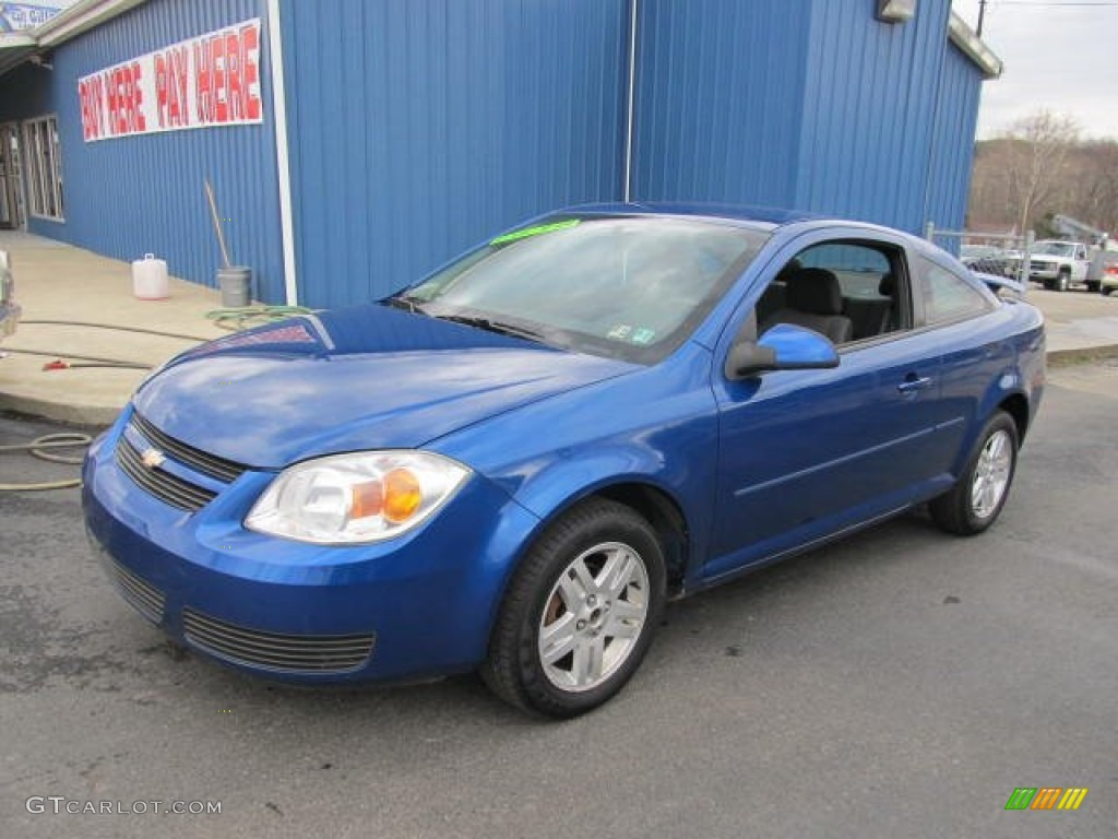 2005 arrival blue metallic chevrolet cobalt ls coupe. Black Bedroom Furniture Sets. Home Design Ideas