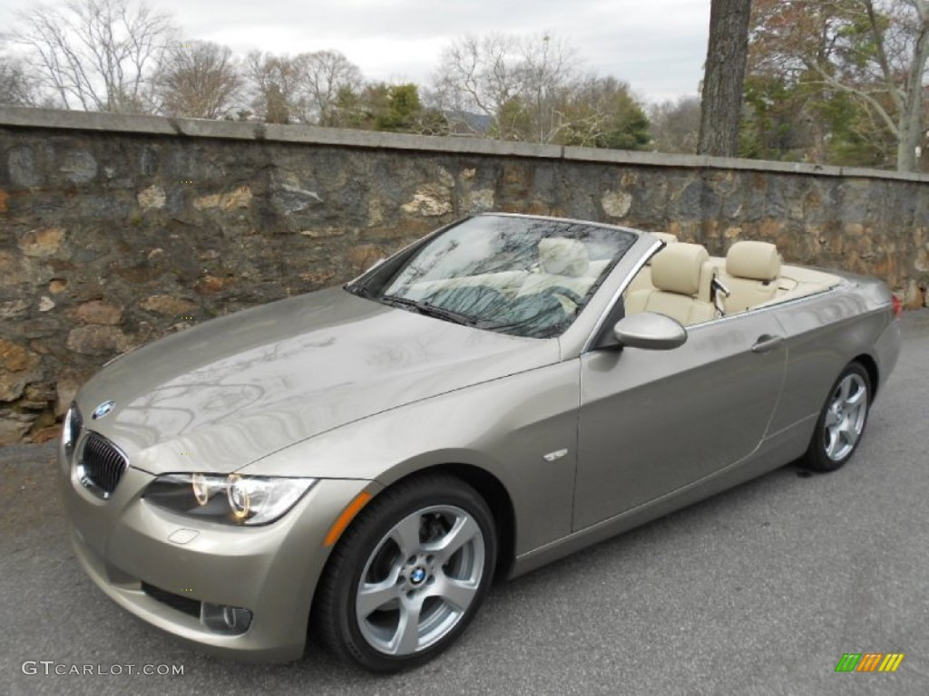 platinum bronze metallic 2007 bmw 3 series 328i convertible exterior photo 61466139. Black Bedroom Furniture Sets. Home Design Ideas