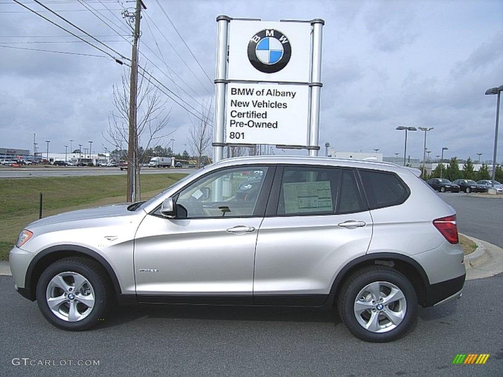 Titanium Silver Metallic BMW X3