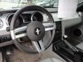 2005 Ford Mustang Light Graphite Interior Steering Wheel Photo