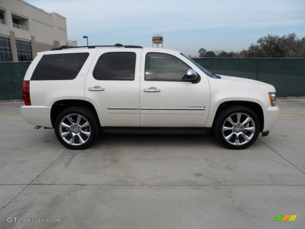white diamond tricoat 2009 chevrolet tahoe ltz exterior photo 61489359. Black Bedroom Furniture Sets. Home Design Ideas