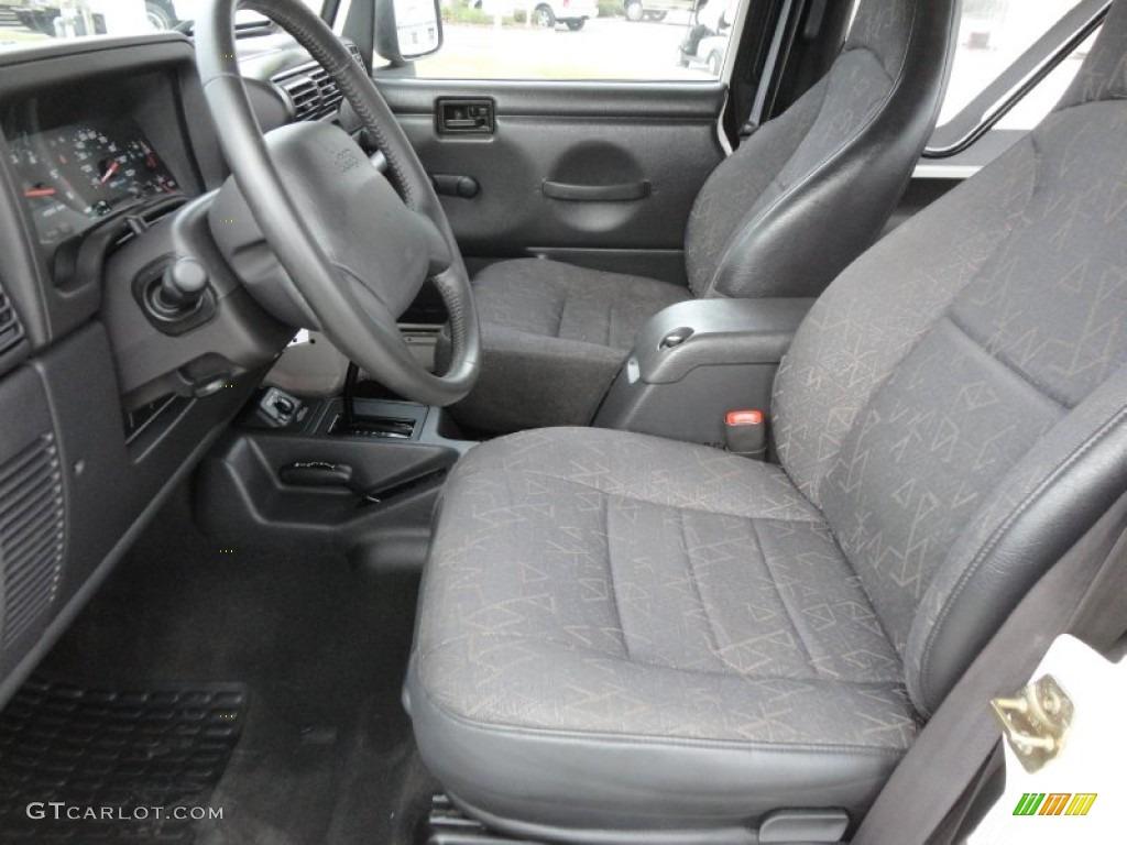 2002 Jeep Wrangler Sport 4x4 Interior Photo 61490778
