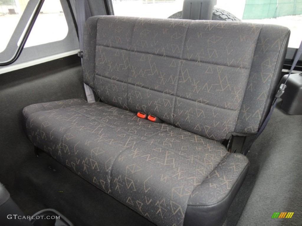 2002 jeep wrangler sport 4x4 interior photo 61490787 for Interior wrangler yj
