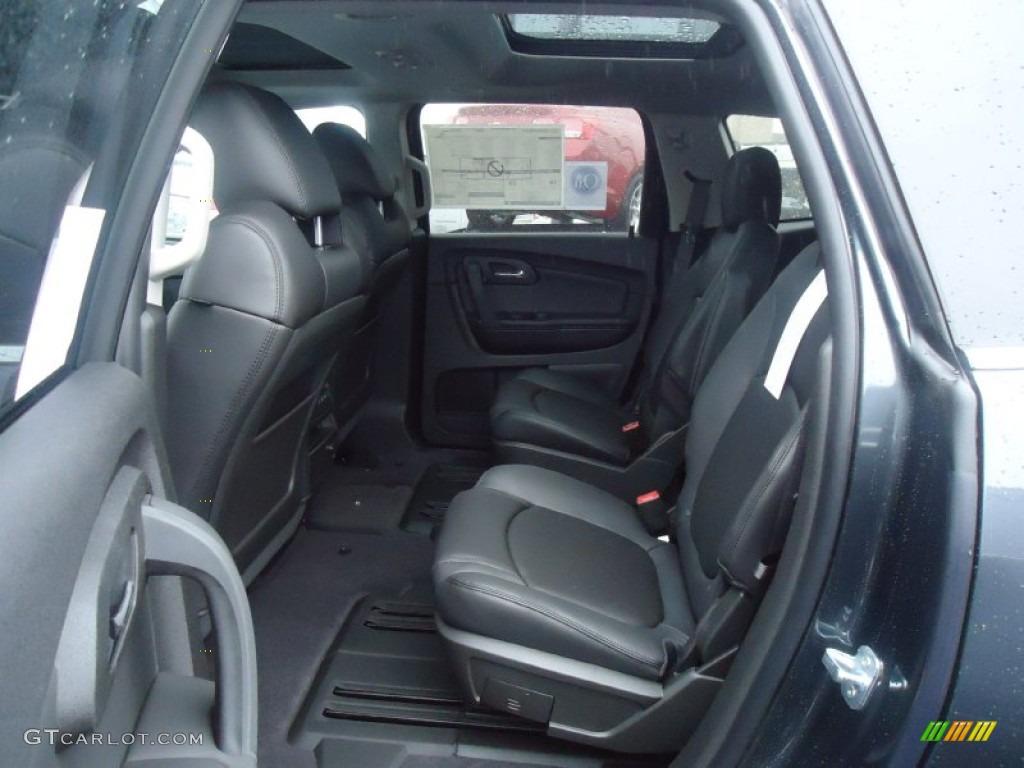Ebony Interior 2012 Chevrolet Traverse Lt Awd Photo 61495840