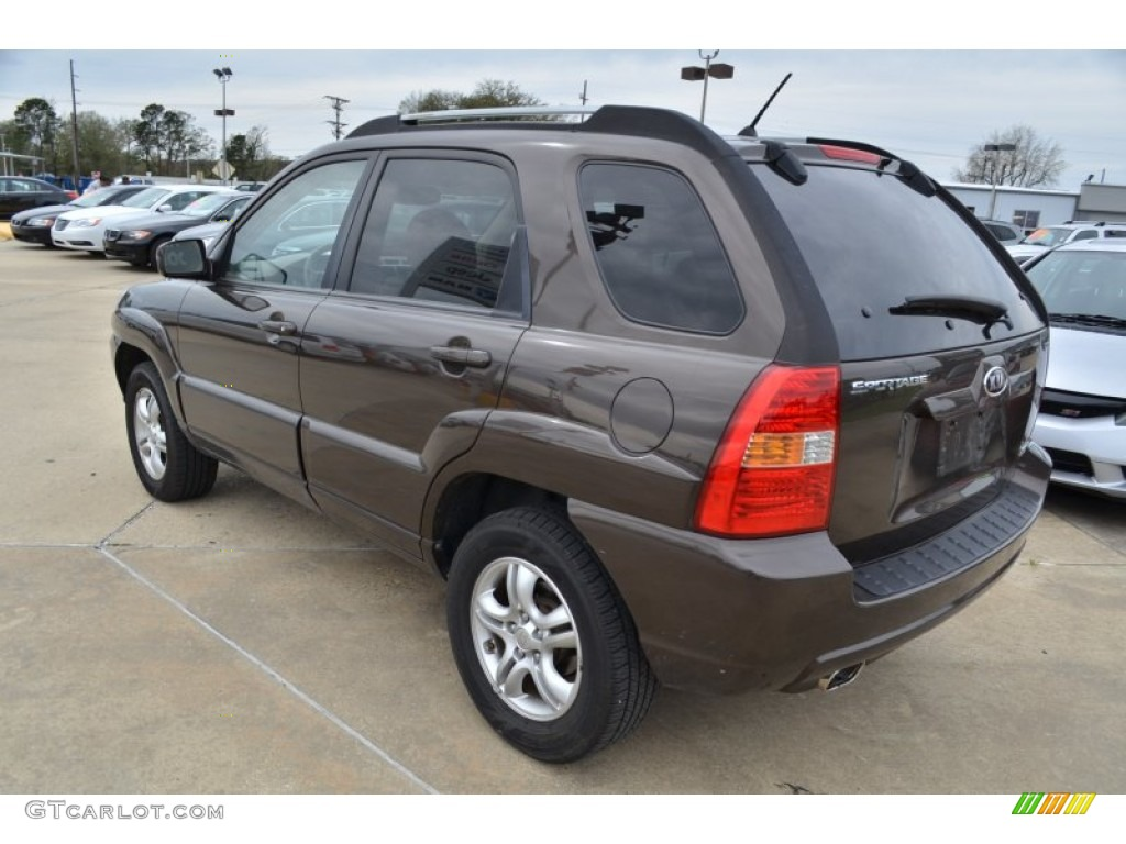 smoky brown 2006 kia sportage ex v6 exterior photo. Black Bedroom Furniture Sets. Home Design Ideas