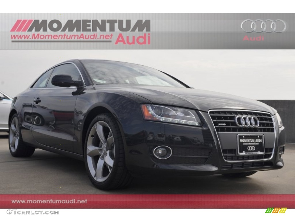 2012 Phantom Black Pearl Effect Audi A5 2.0T quattro Coupe #61499839