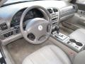 Dark Stone/Medium Light Stone 2004 Lincoln LS Interiors